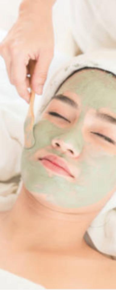 Argile verte visage